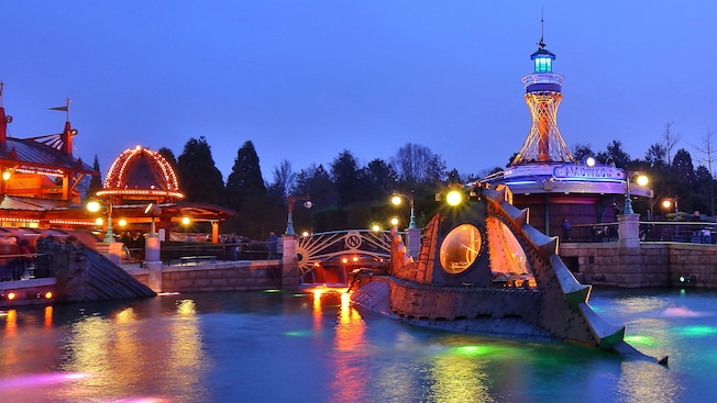 Les Mysteres Du Nautilus Disneyland Paris Attractions