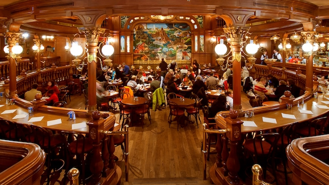 The Lucky Nugget Saloon Disneyland Paris Restaurants